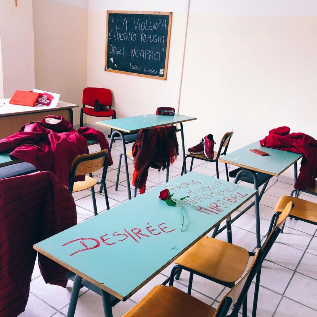 La 'Red Week' di Scuole Riunite per dire no alla violenza sulle donne